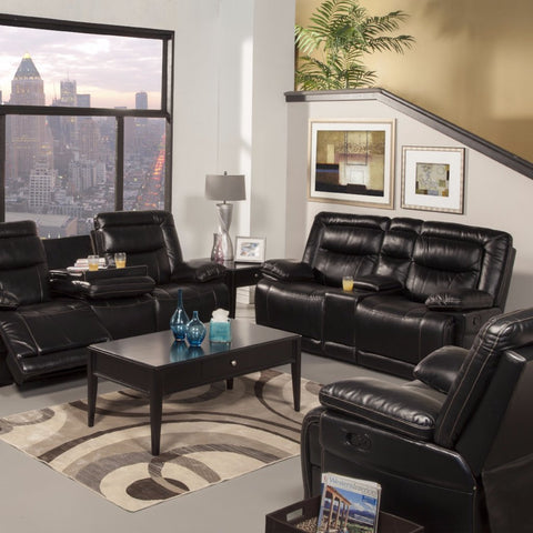Torino Power Reclining Living Room Set, Living Room Set, New Classic Furniture - Adams Furniture