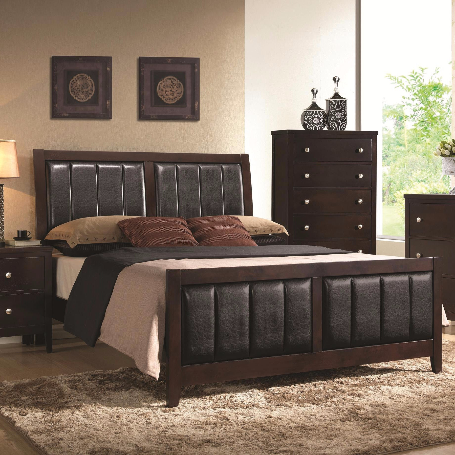 Bed And Dresser Sets Home Interiors Designs