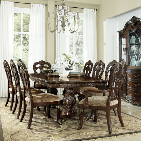 Deryn Park 7 Piece Dining Set, Dining Set, Homelegance - Adams Furniture