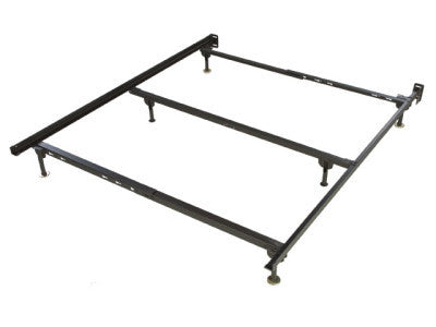 Queen Metal Bed Frame, Bedroom, Adams Furniture - Adams Furniture
