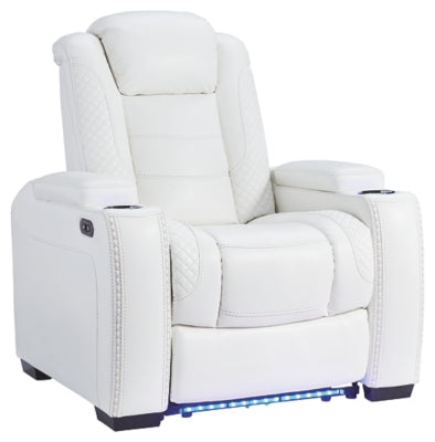 Party Time Power Recliner, Recliner, Ashley Furniture - Adams Furniture