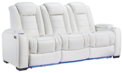Party Time Power Reclining Sofa, Sofa, Ashley Furniture - Adams Furniture