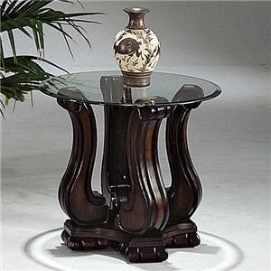 Lucia Nailhead End Table, Occasional Tables, Crown Mark - Adams Furniture