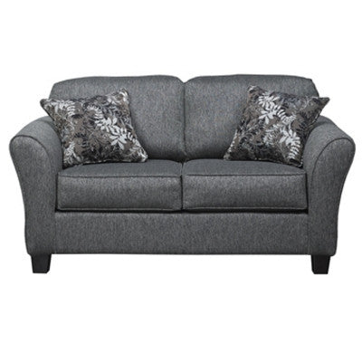 Stoked Ashes Loveseat, Loveseat, Hughes Furniture - Adams Furniture
