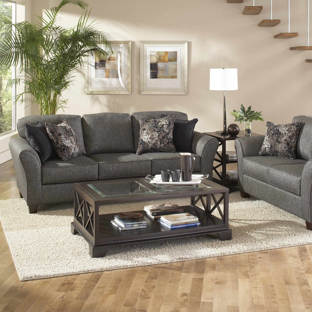 Stoked Ashes Living Room Set, Living Room Set, Hughes Furniture - Adams Furniture