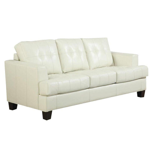 Samuel - Cream Sleep Sofa, Sleep Sofa, Coaster Furniture - Adams Furniture