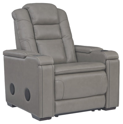 Boerna Power Recliner, Recliner, Ashley Furniture - Adams Furniture