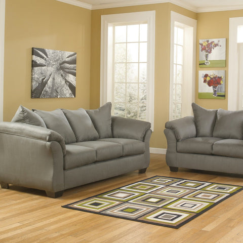 Darcy Cobblestone Living Room Set, Living Room Set, Ashley Furniture - Adams Furniture