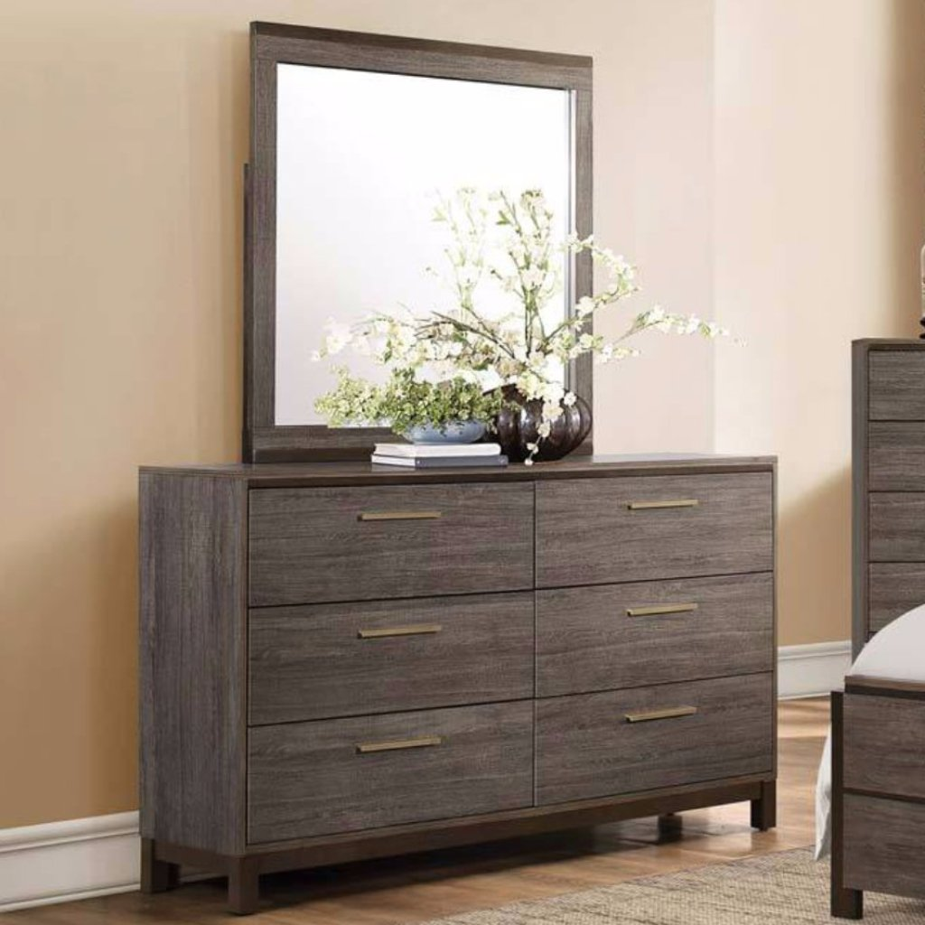 Vestavia Youth Dresser & Mirror, Kids Bedroom, Homelegance - Adams Furniture