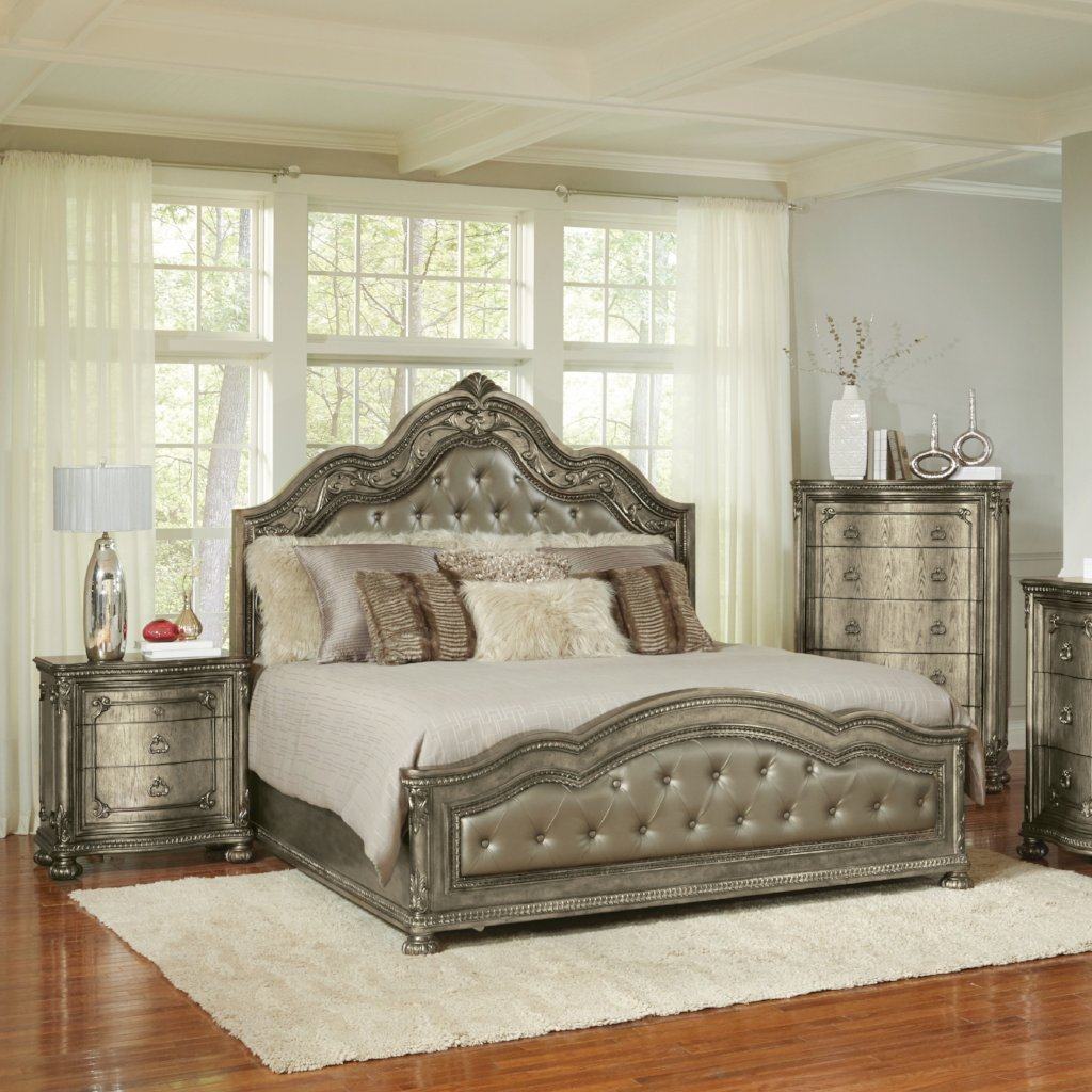 Seville Bedroom Set, Bedroom Set, Avalon Furniture - Adams Furniture
