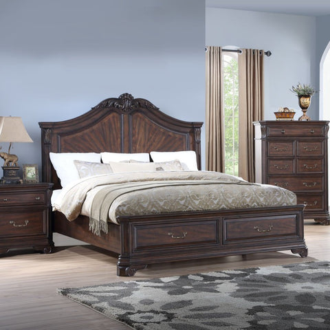 Lyla Storage Bedroom Set, Bedroom Set, Avalon Furniture - Adams Furniture