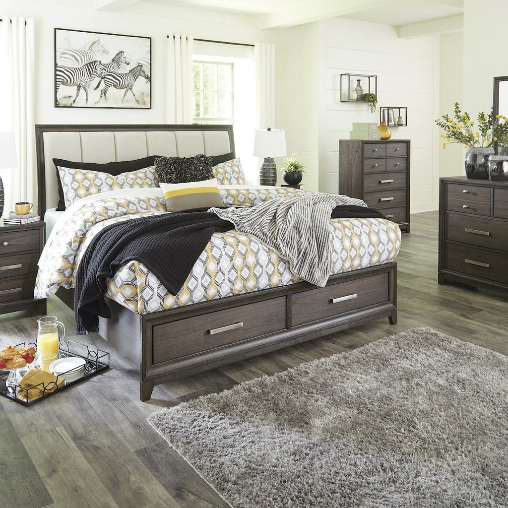 Brueban Storage Bedroom Set, Bedroom Set, Ashley Furniture - Adams Furniture