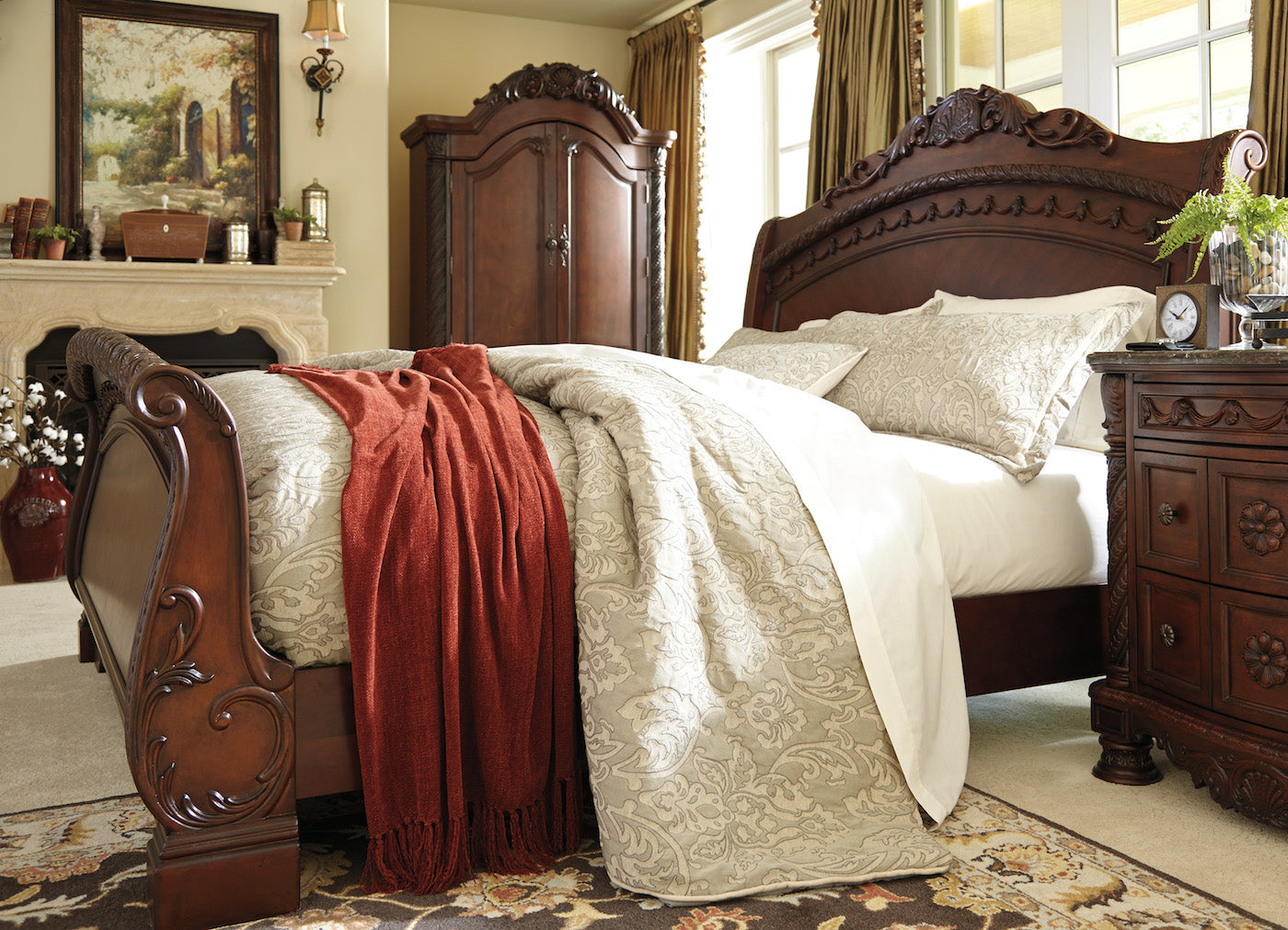 ... North Shore Bedroom Set, Bedroom Set, Ashley Furniture   Adams Furniture  ...