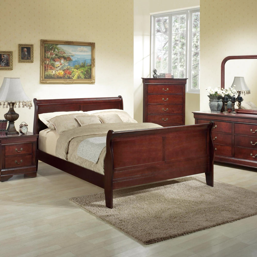 Louis Philippe Bedroom Set, Bedroom Set, LIFESTYLE - Adams Furniture