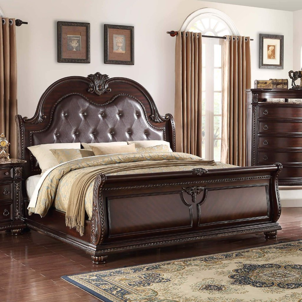 Stanley Bedroom Set, Bedroom Set, Crown Mark - Adams Furniture