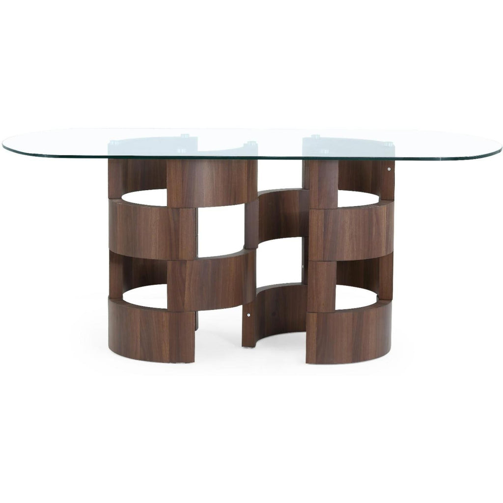 Mia Dining Table, Dining Table, Global Furniture - Adams Furniture