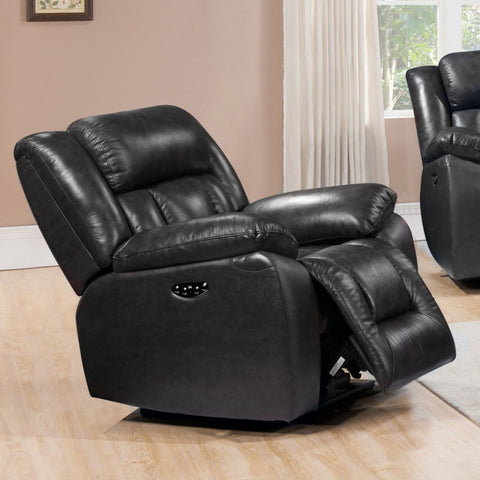 Emmett Power Recliner, Recliner, Leather Italia - Adams Furniture