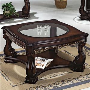 Lucia Nailhead Cocktail Table, Occasional Tables, Crown Mark - Adams Furniture