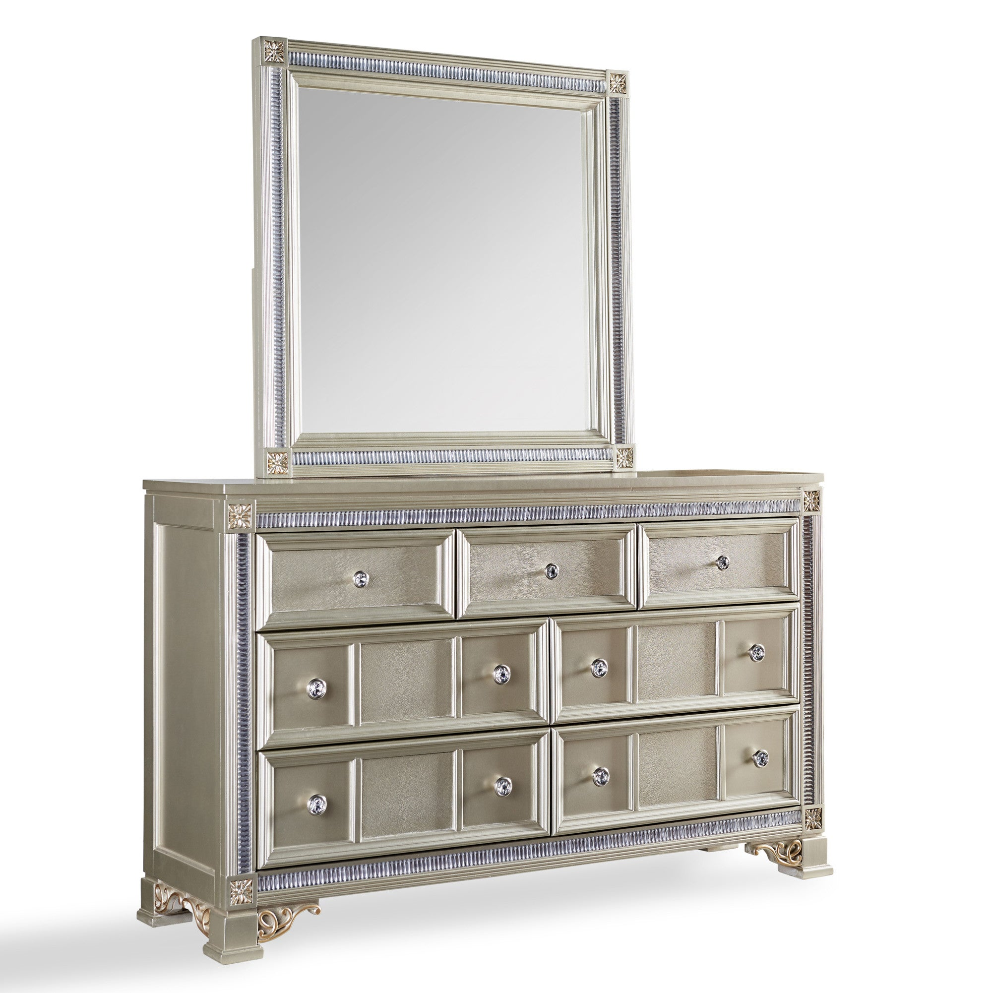 with dresser furniture trimming store hazelnut inc silver bedroom import export mirrored black