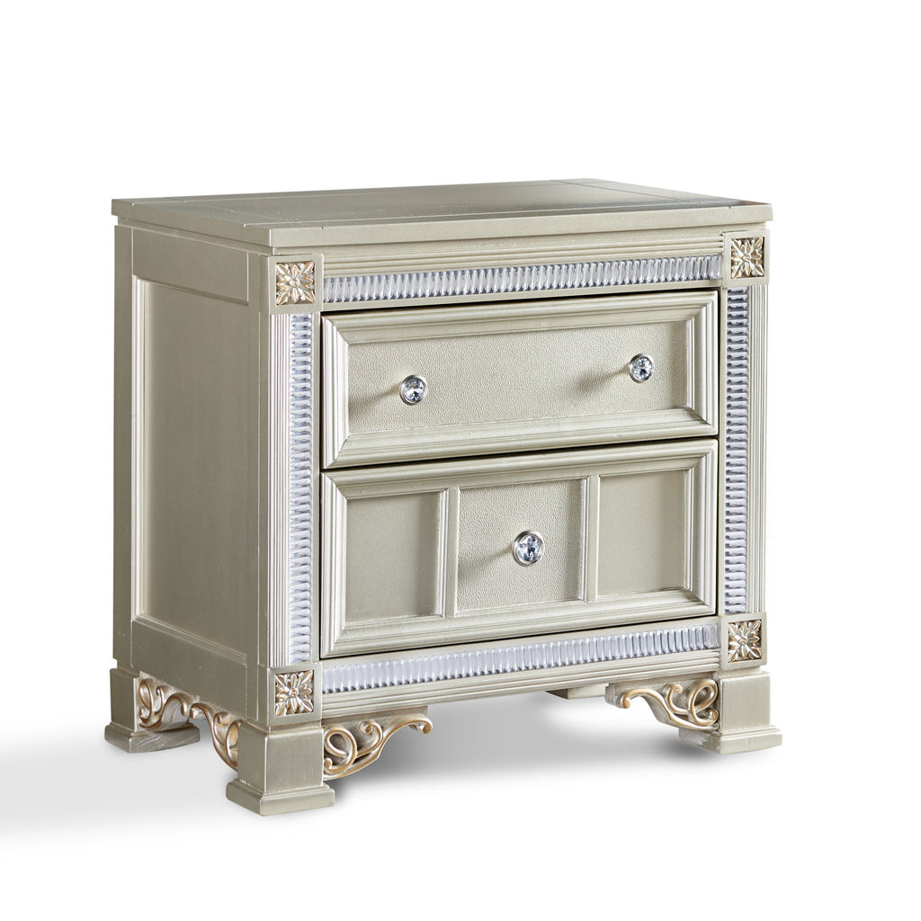 Tiffany Nightstand, Nightstand, Fairfax Home - Adams Furniture