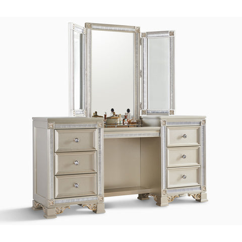 Tiffany Vanity, Vanity, Fairfax Home - Adams Furniture