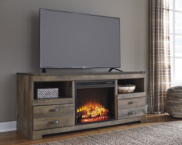 Trinell Fireplace Tv Stand Adams Furniture