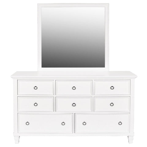 Tamarack Dresser & Mirror, Dresser & Mirror, New Classic Furniture - Adams Furniture
