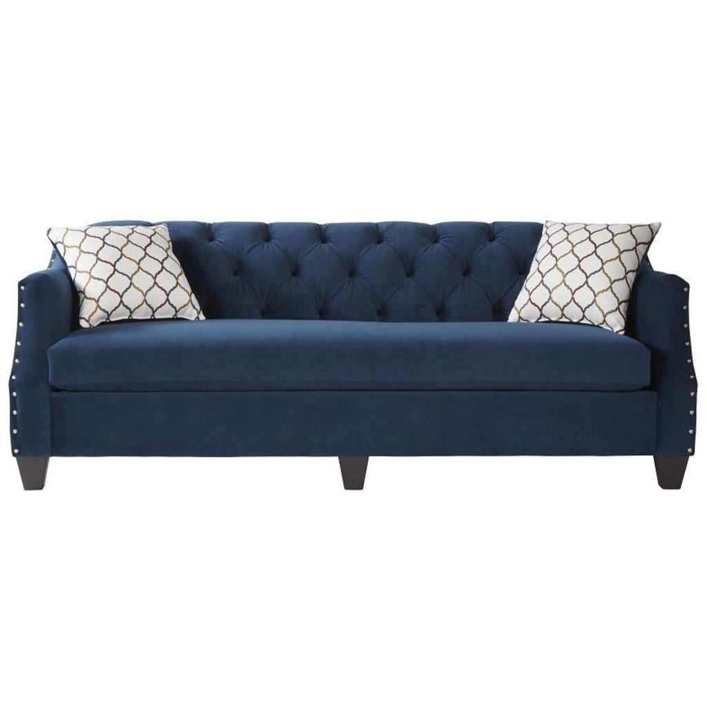 Bing Indigo Sofa, Sofa, Hughes Furniture - Adams Furniture