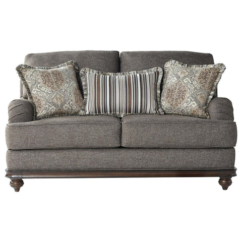 Phineas Driftwood Loveseat, Loveseat, Hughes Furniture - Adams Furniture