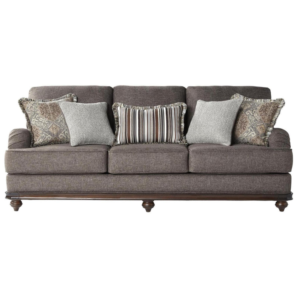 Phineas Driftwood Sofa, Sofa, Hughes Furniture - Adams Furniture