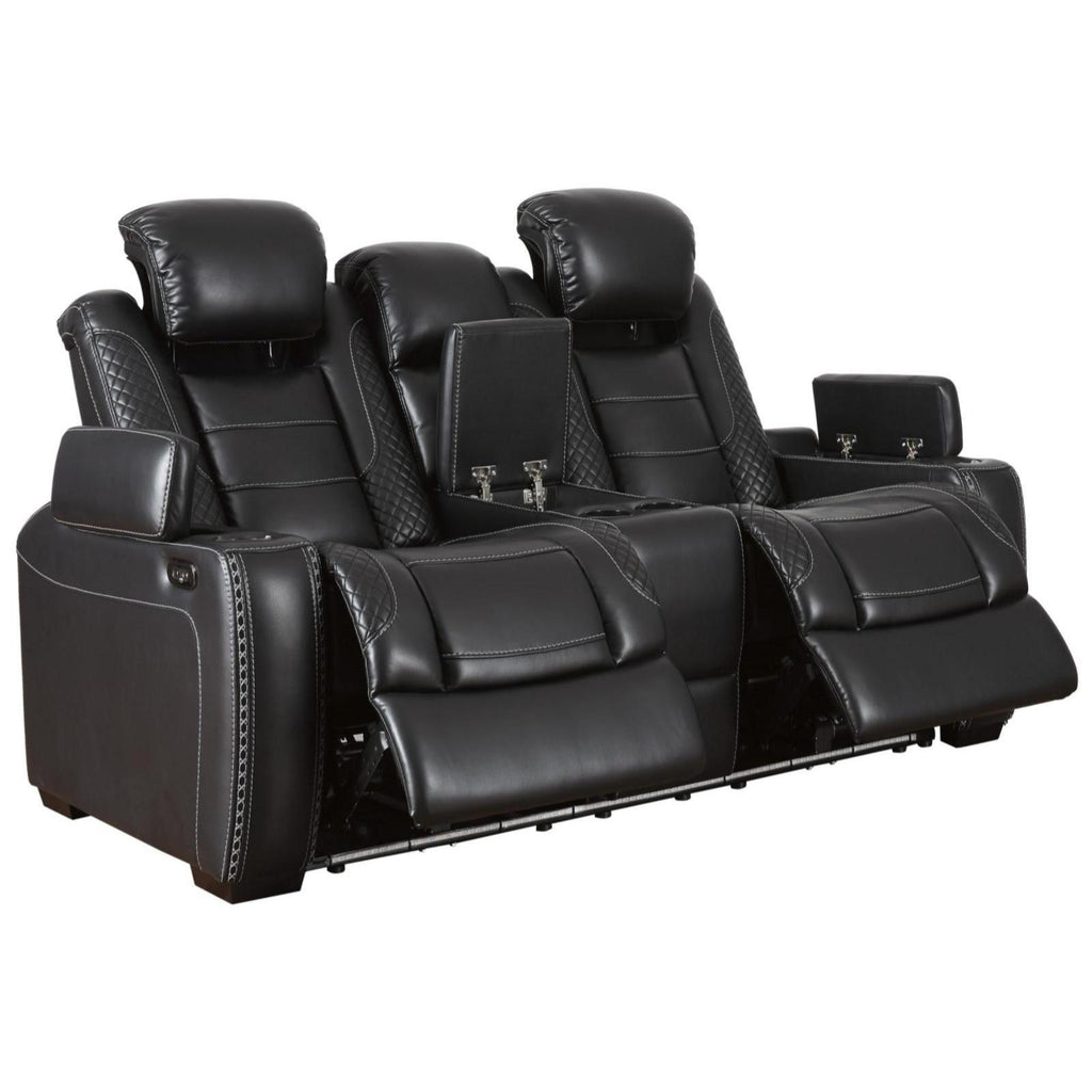 Party Time Power Reclining Loveseat, Loveseat, Ashley Furniture - Adams Furniture