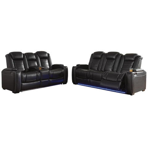 Party Time Power Reclining Living Room Set, Living Room Set, Ashley Furniture - Adams Furniture