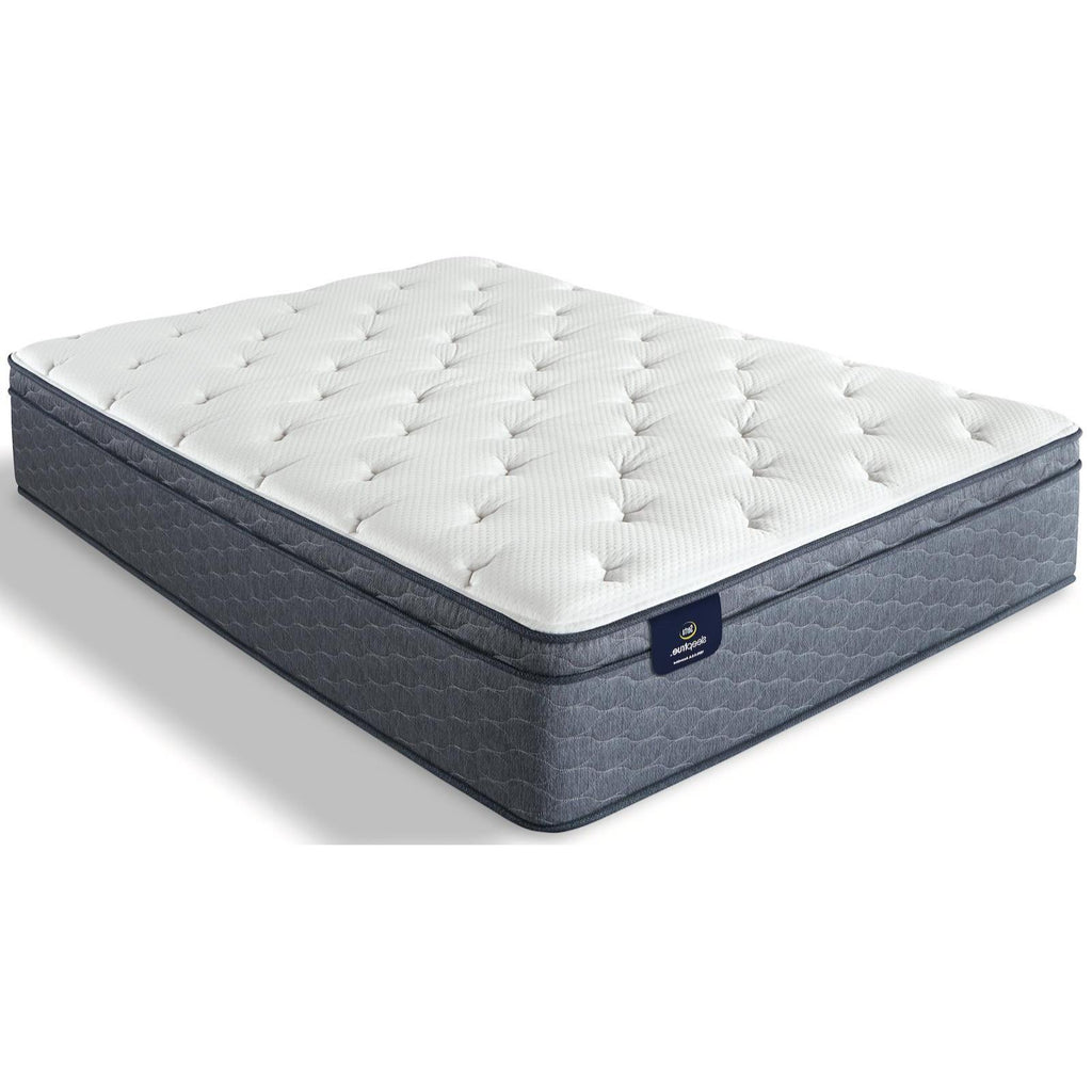 Serta SleepTrue Alverson II Firm Euro Top Mattress, Mattress, Serta - Adams Furniture