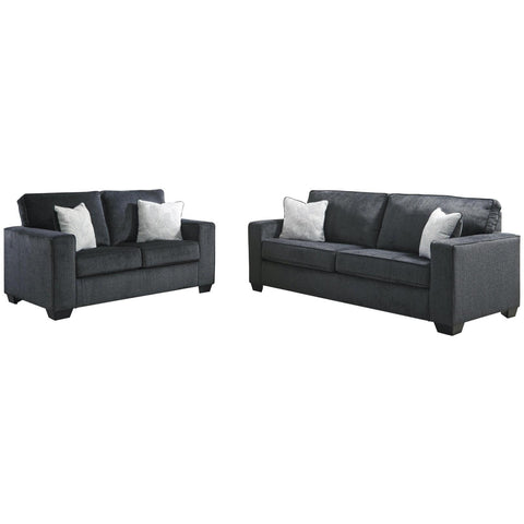 Altari Slate Living Room Set, Living Room Set, Ashley Furniture - Adams Furniture
