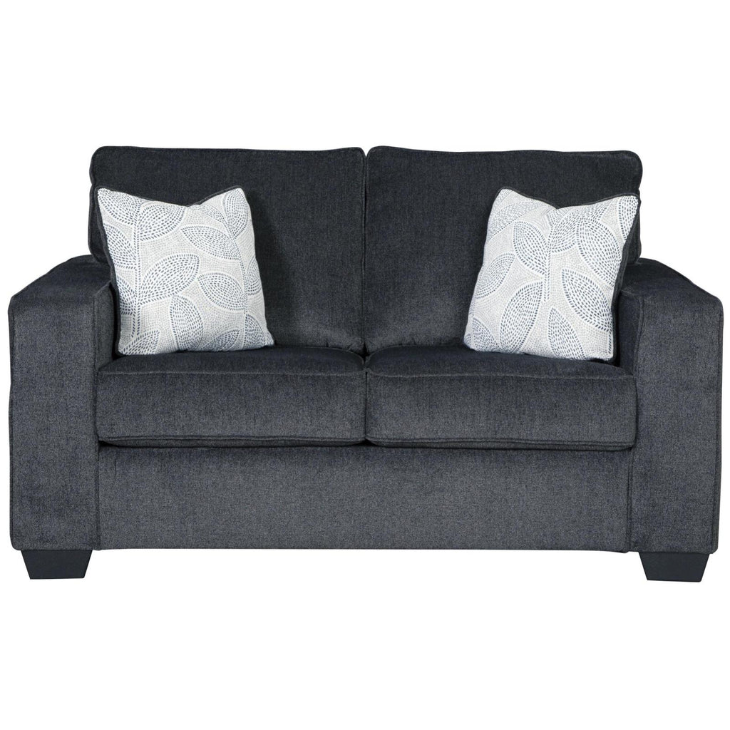 Altari Slate Loveseat, Loveseat, Ashley Furniture - Adams Furniture