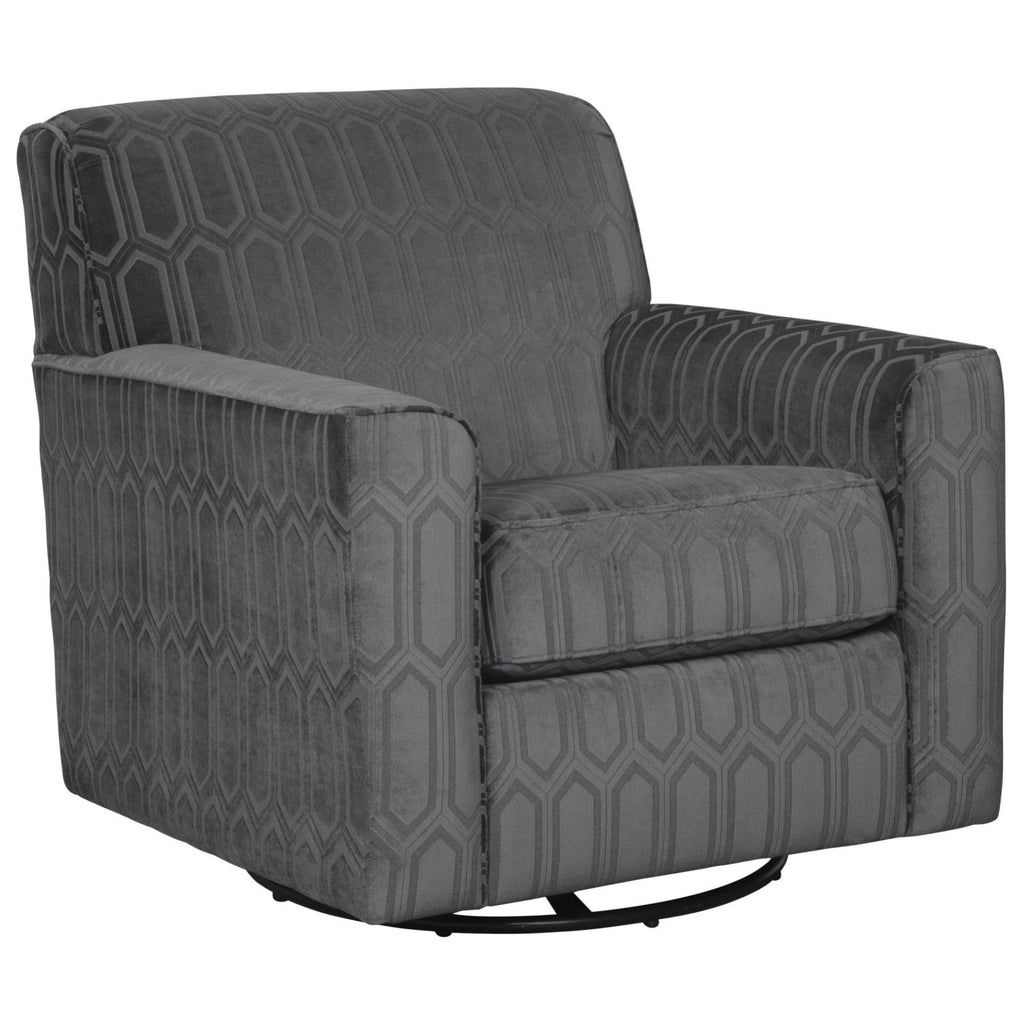 Zarina Swivel Chair, Accent Chair, Ashley Furniture - Adams Furniture