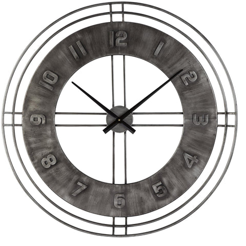 Ana Sofia Clock, Accents, Ashley Furniture - Adams Furniture