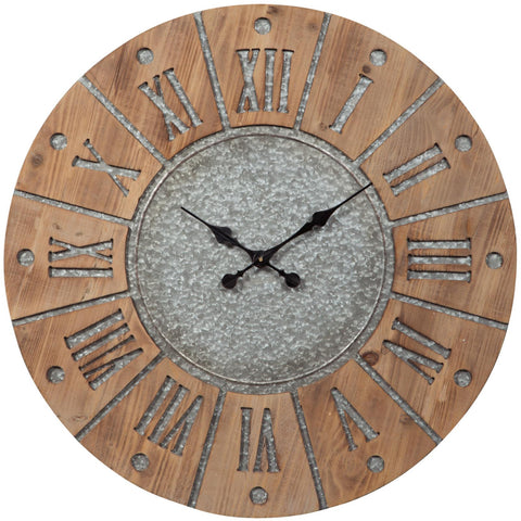 Payson Clock, Accents, Ashley Furniture - Adams Furniture