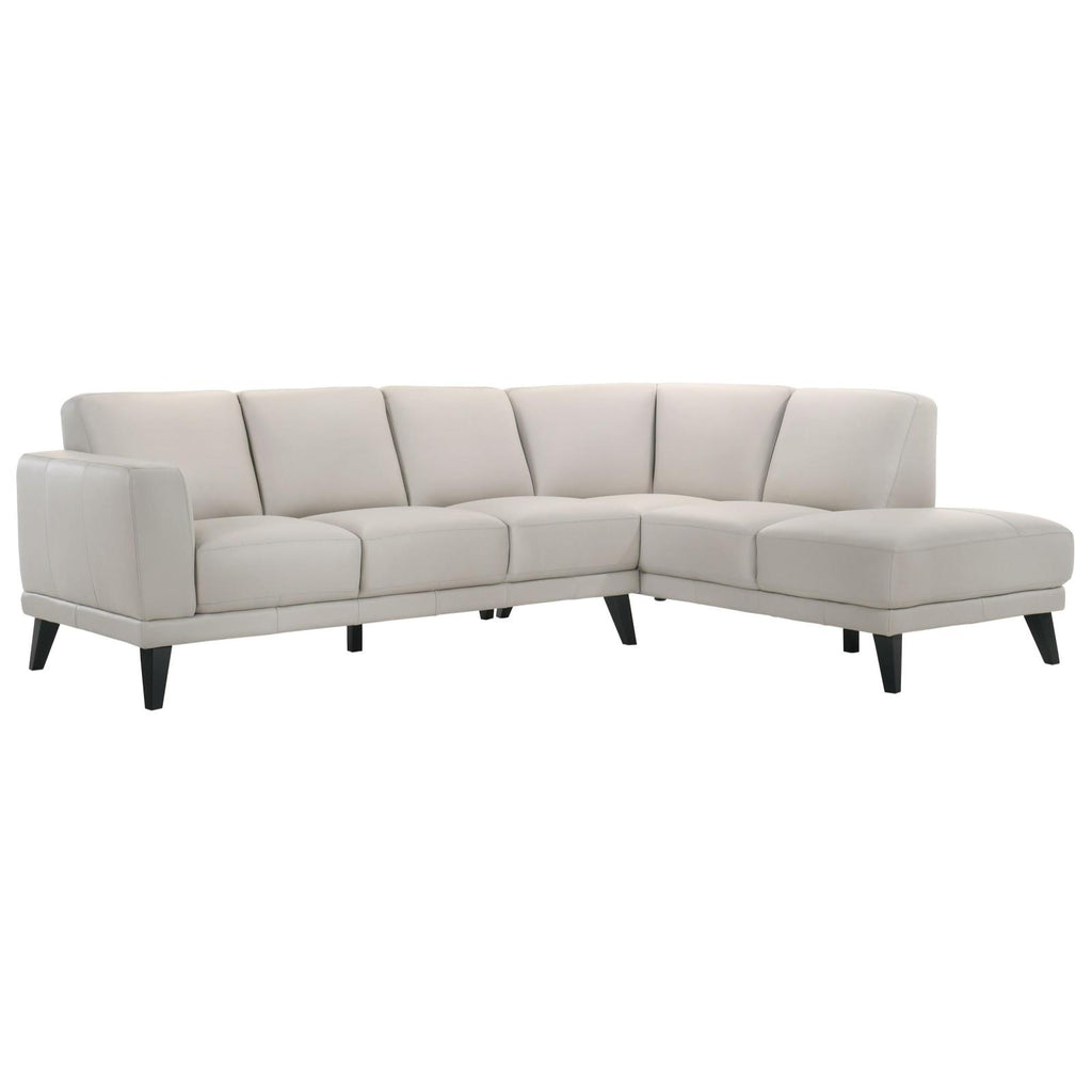 Altamura Mist Sectional, Sectional, New Classic Furniture - Adams Furniture