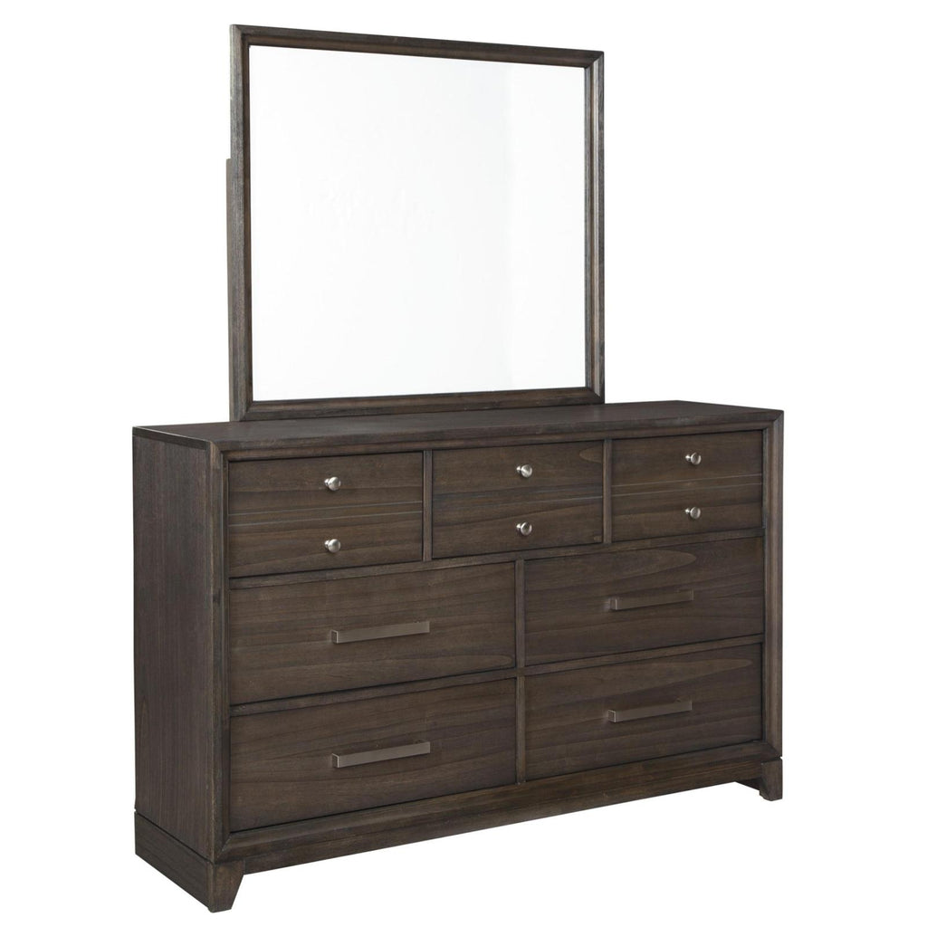 Brueban Dresser & Mirror, Dresser & Mirror, Ashley Furniture - Adams Furniture