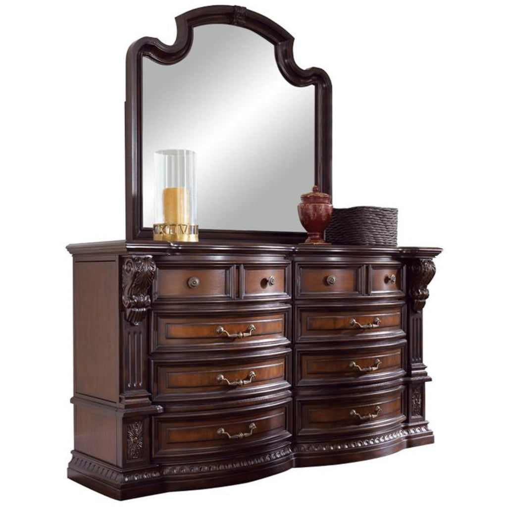 Grand Estates Dresser & Mirror, Dresser & Mirror, FD Home - Adams Furniture