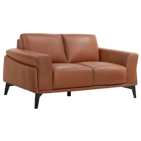 Como Terracotta Loveseat, Loveseat, New Classic Furniture - Adams Furniture