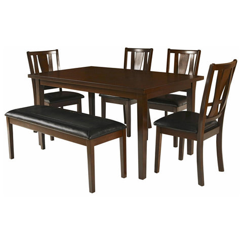 Dixon 6 Piece Dining Set, Dining Set, New Classic Furniture - Adams Furniture