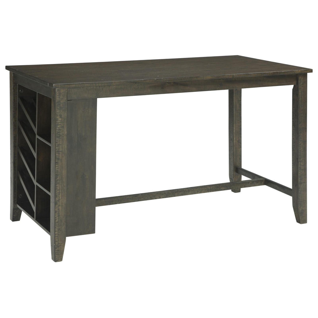 Rokane Counter Table with Storage, Dining Table, Ashley Furniture - Adams Furniture