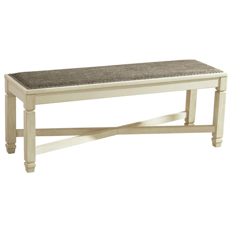 Bolanburg Dining Room Bench, Dining Bench, Ashley Furniture - Adams Furniture