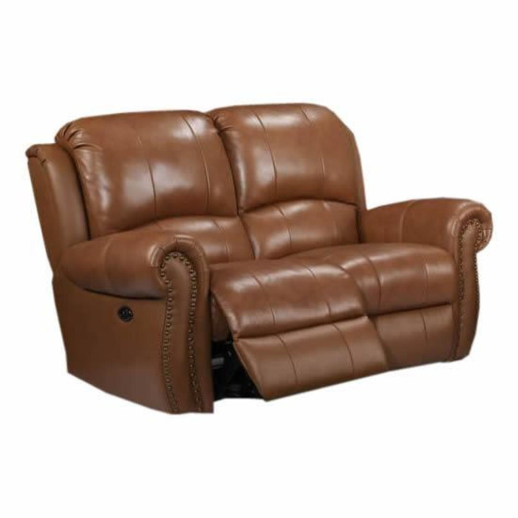 Howard Power Reclining Loveseat, Loveseat, Leather Italia - Adams Furniture