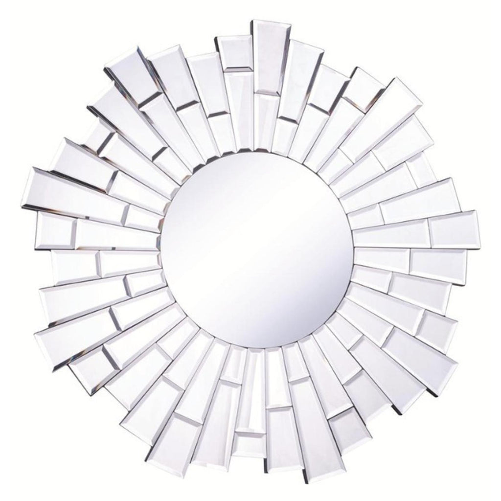 Starburst Wall Mirror, Accents, Elegant Lighting - Adams Furniture