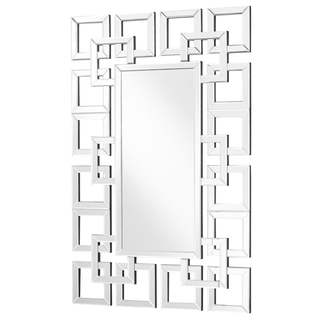 Contemporary Wall Mirror, Accents, Elegant Lighting - Adams Furniture