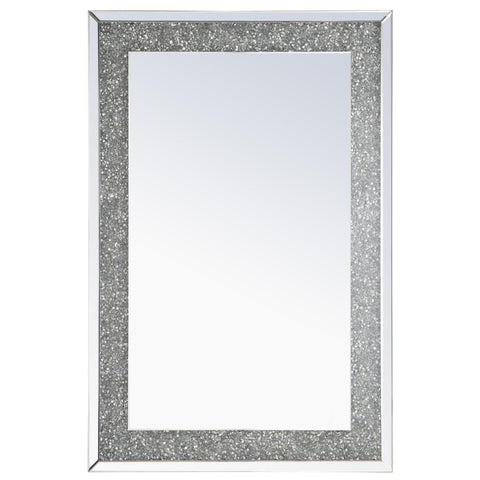 Crystal Wall Mirror, Accents, Elegant Lighting - Adams Furniture