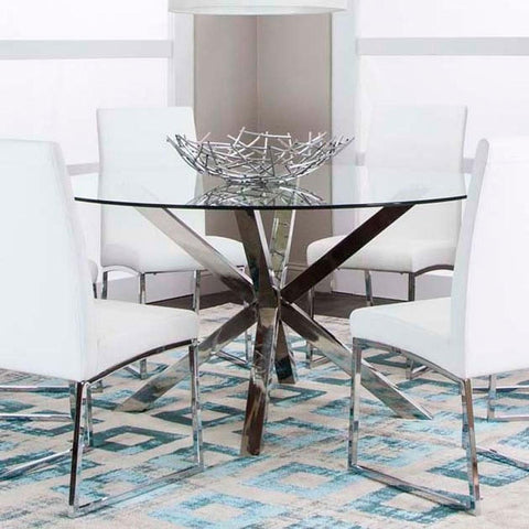 Classic Round Dining Table, Dining Table, Cramco - Adams Furniture